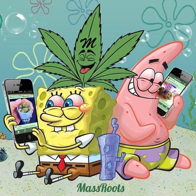 sponge bob marihuana