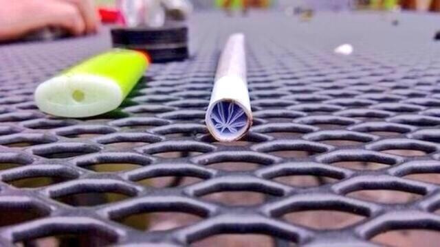 filterek w kształcie liścia marihuany