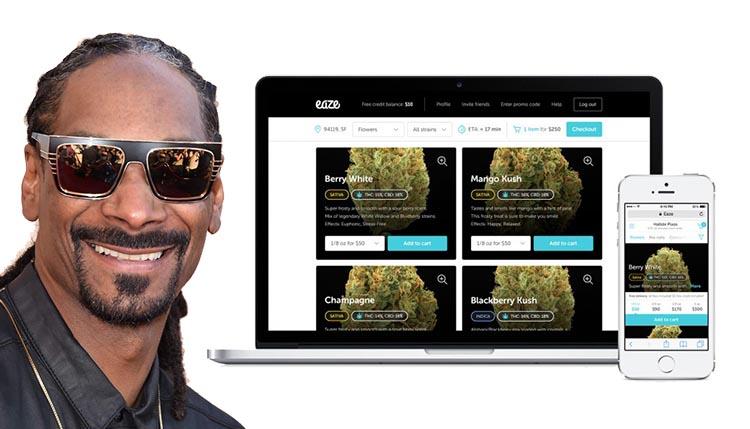 snoop-dogg-inwestuje-eaze-marihuana-dostarczana-do-domu