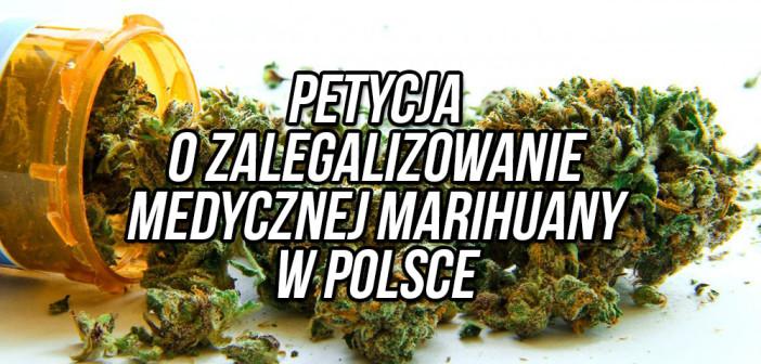 Apel o legalizację medycznej marihuany w Polsce: Podpisz petycję!