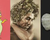 Artysta odświeża znane portrety, obrazki i logo za pomocą marihuany