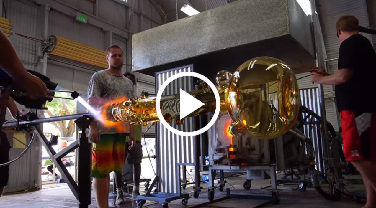 produkcja największego bonga na świecie