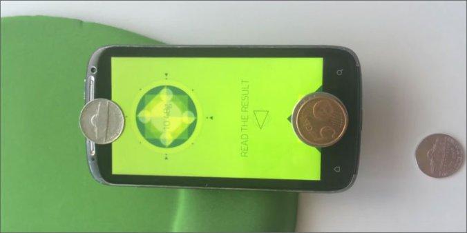 waga na smartfon z systemem android