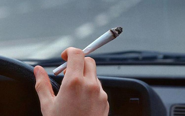 Jazda samochodem pod wpływem marihuany