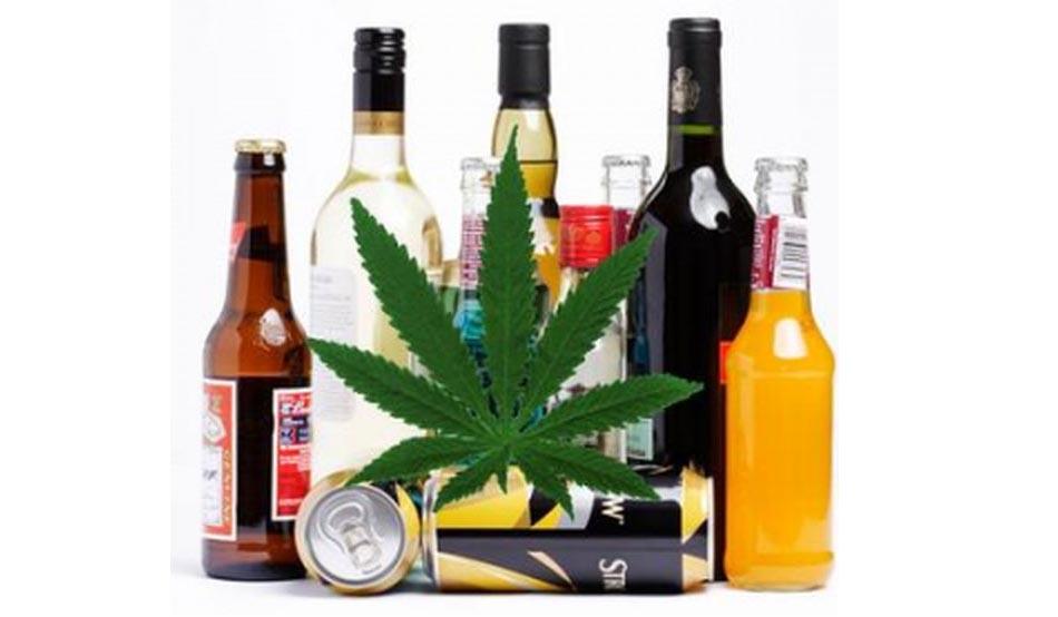 alkoholizm może być wyleczony przy pomocy medycznej marihuany