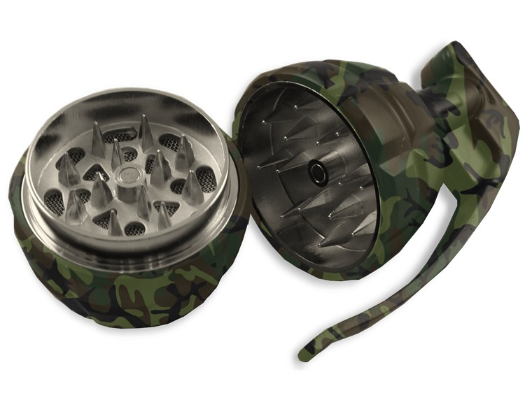grinder w kształcie granata