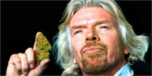 Richard Branson: Palcie marihuanę ze swoimi dziećmi