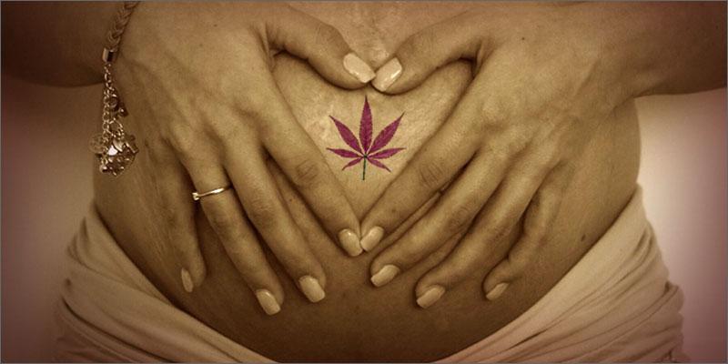 używanie marihuany w ciąży nie jest niebezpieczne dla dziecka