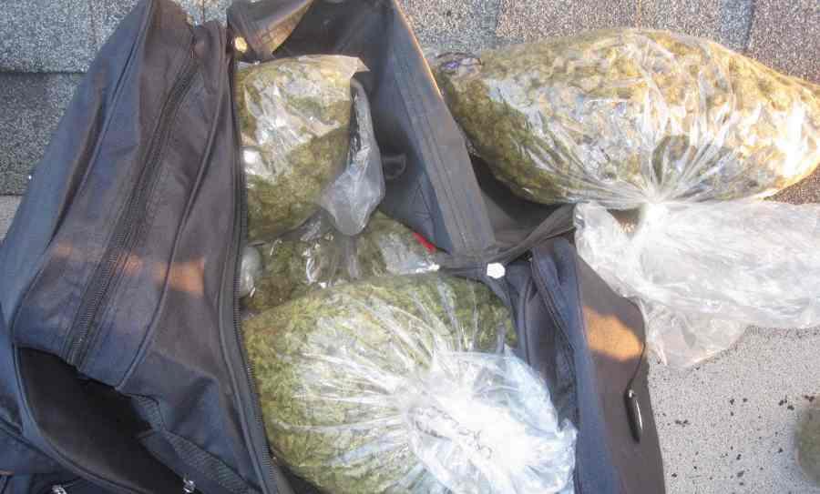 plecak z marihuaną został znaleziony w krakowie na prokocimiu