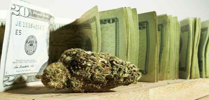 każdego dnia stan waszyngton zarabia prawie milion doolarów ze sprzedaży medycznej marihuany
