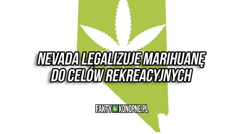 nevada zalegalizowała marihuanę do celów rekreacyjnych