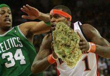 były gracz NBA palił marihuanę przed meczem