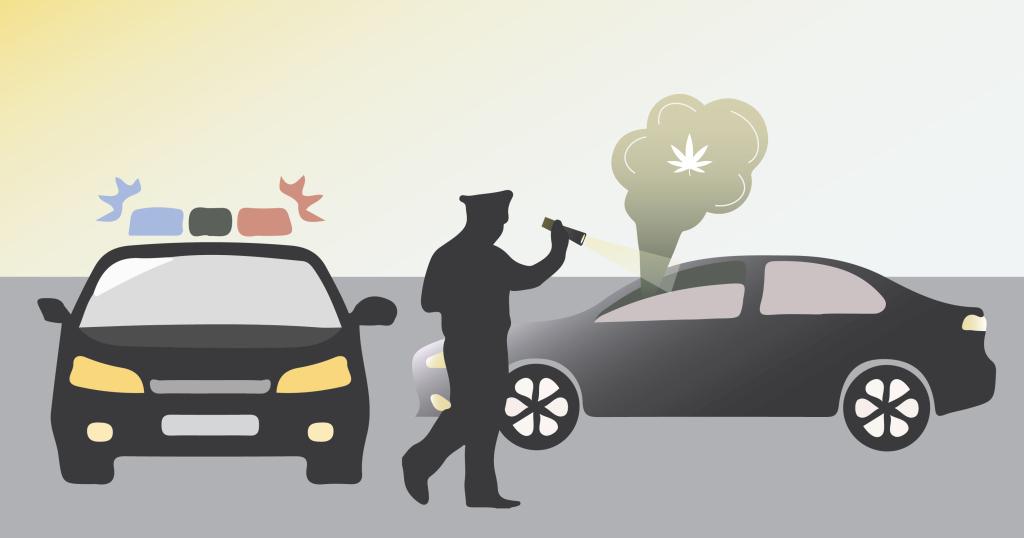 Jazda samochodem pod wpływem THC