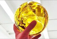 3 kilogramowa kula czystego w 99% THC