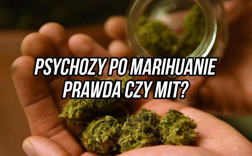Występowanie psychozy po paleniu marihuany nie jest aż tak straszne, jak wcześniej nam wmawiano