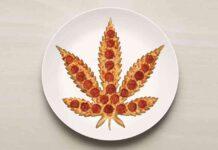 pizza z marihuaną