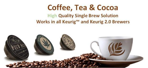 Kapsułki do kawy z THC