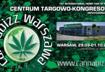 Cannabizz - Międzynarodowe targi konopne w Warszawie