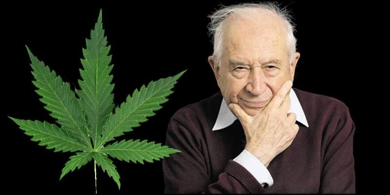 Raphael Mechoulam to odkrywca THC i jedna z najbardziej znanych osób w świecie nauki o konopiach