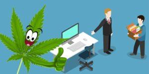 Mężczyzna zwolniony za palenie marihuany został przywrócony do pracy wraz z premią