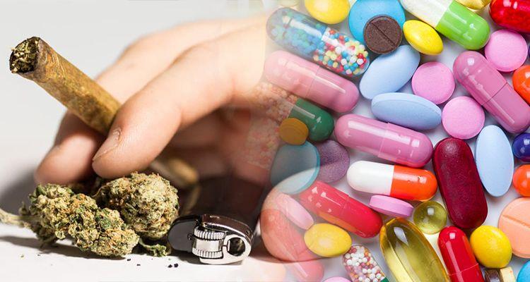 Używanie marihuany podczas stosowania antybiotyku