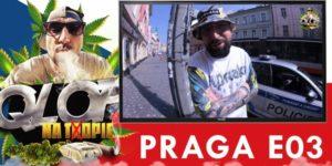 Czeska policja złapała poznańskiego rapera. Palił jointa w centrum Pragi