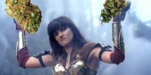 Xena wojownicza księżniczka walczy o legalizację medycznej marihuany