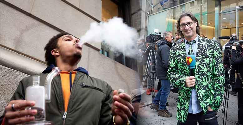 Pierwszy dzień legalnej marihuany w Kanadzie