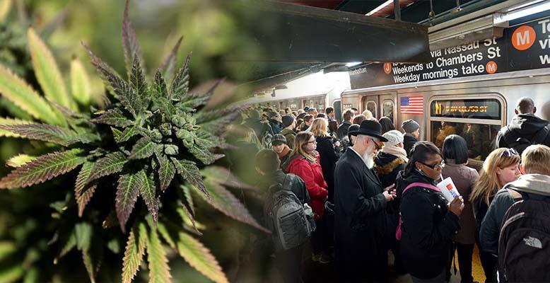 Legalizacja marihuany w Nowym Jorku sposobem na modernizacje metra