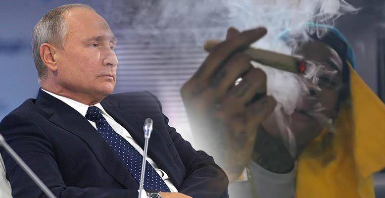 Putin chce cenzurować rap. Jest w nim za dużo marihuany