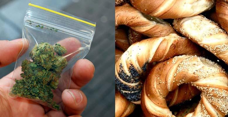 Mieszkaniec Niepołomic sprzedawał obwarzanki i marihuanę