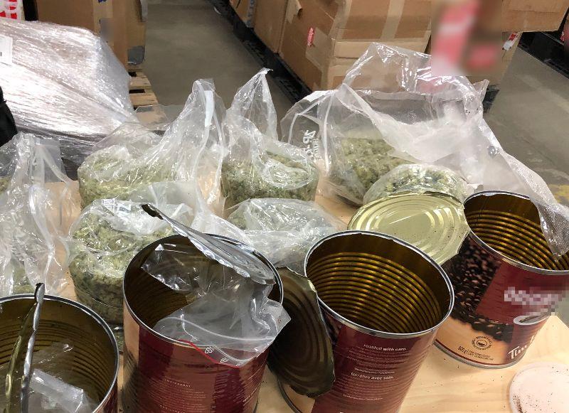 76 kilogramów marihuany z Kanady zabezpieczone przez warszawską Izbę Skarbową