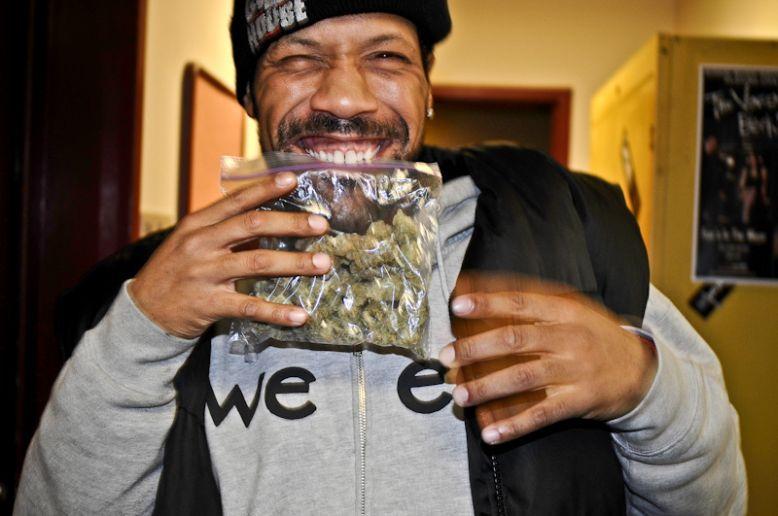Raper Redman znalazł marihuanę sprzed 20 lat