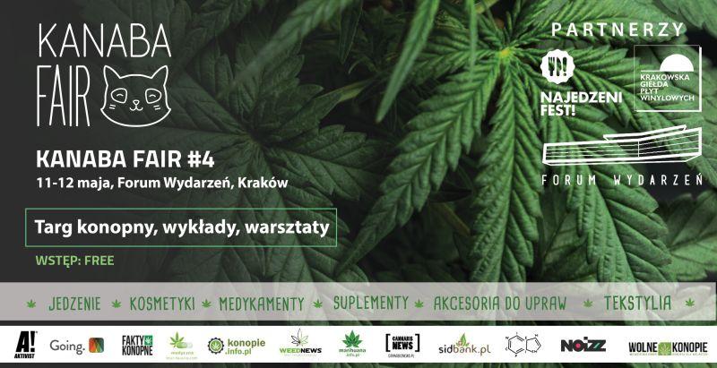 Tarki konopne Kanaba Fair 2019 w Krakowie
