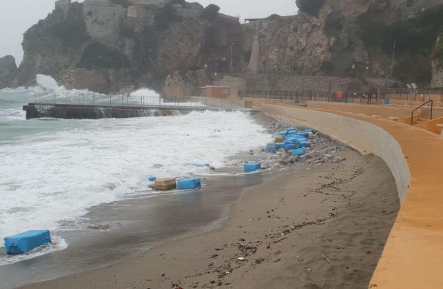 3 tony marihuany na wybrzeżu Gibraltaru