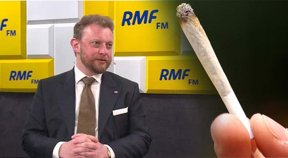 Minister Zdrowia Łukasz Szumowski przyznał, że palił marihuanę, ale jest przeciwny legalizacji