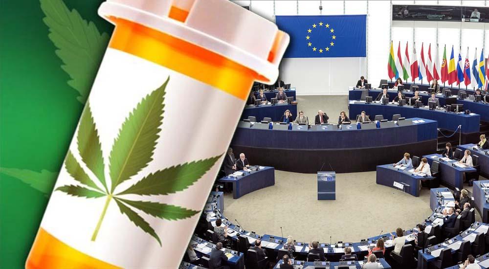 Parlament Europejski zatwierdził uchwałę o medycznej marihuanie