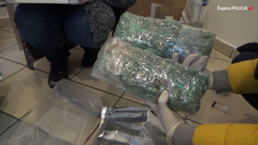 65 kilogramów marihuany przejęła policja na śląsku