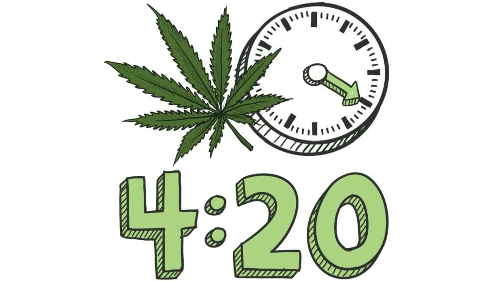 O której godzinie zwykle pali się marihuanę