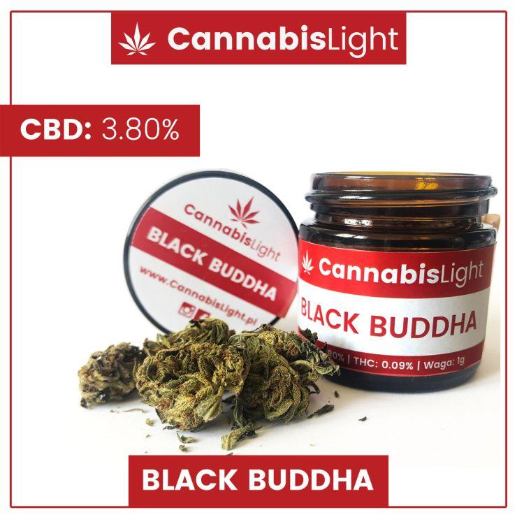 Susz CBD do palenia Black Buddha