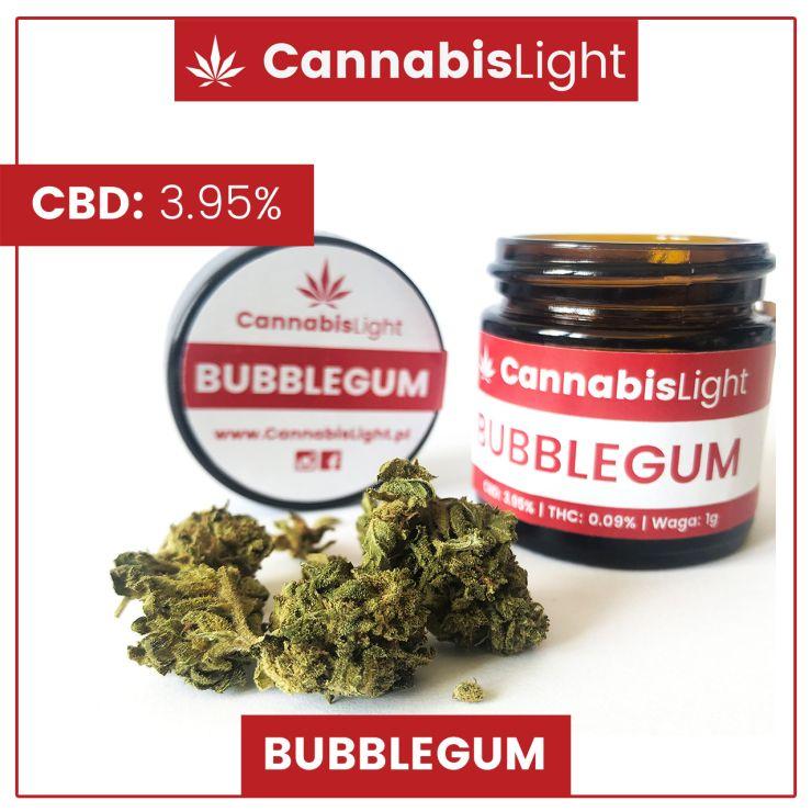 Bubblegum susz CBD do palenia