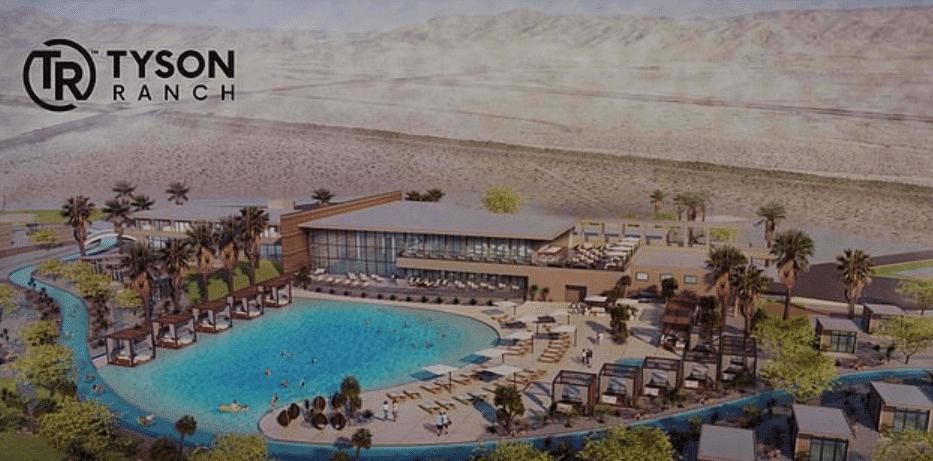 Hotel z basenem na Tyson Ranch