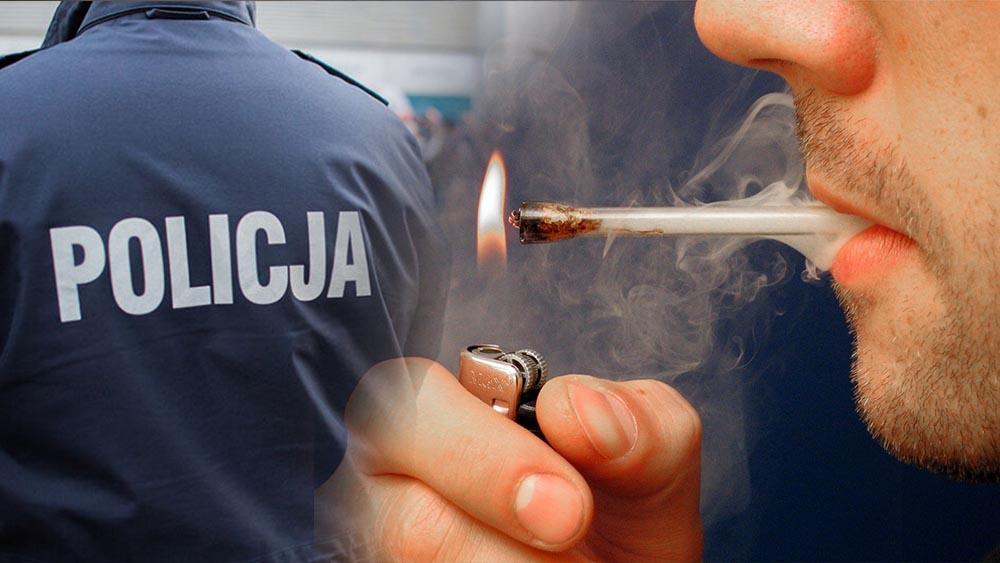 Czterech mężczyzn z Łodzi zapytali policjantów o lufke do palenia marihuany