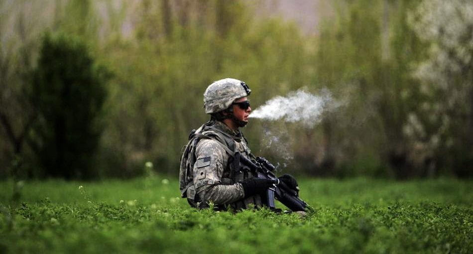 Żołnierz przyłapany na paleniu marihuany w ośrodku ostrzegania o pociskach jądrowych