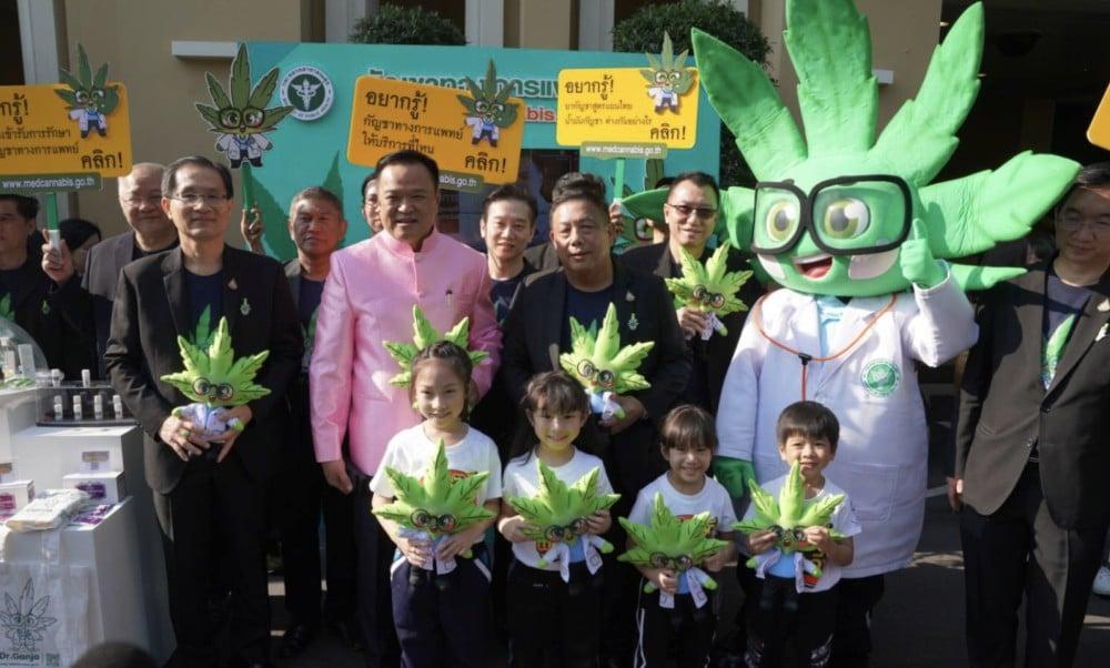 Premier Tajlandii promuje medyczną marihuanę