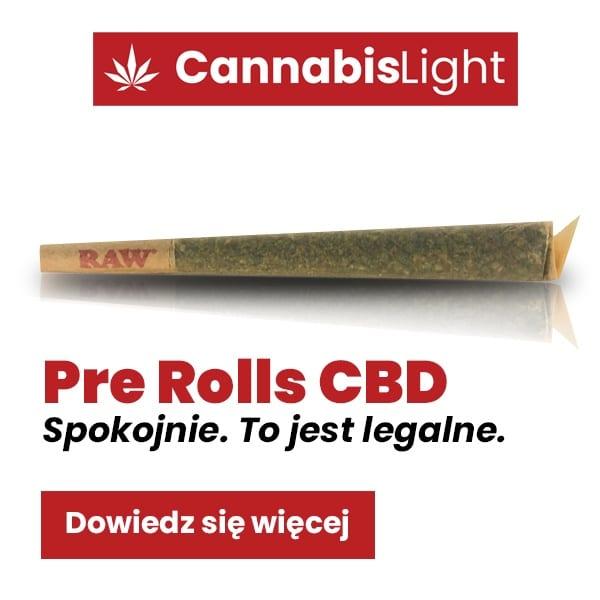 Pre Rolls CBD marki Cannabis Light