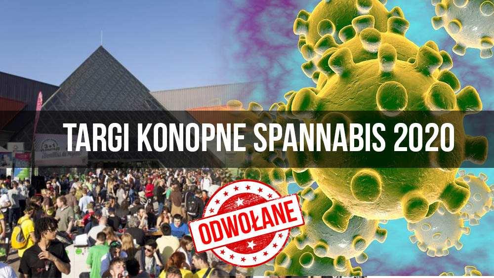 Targi konopne Spannabis 2020 odwołane. Powodem koronawirus Covid-19