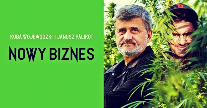Kuba Wojewódzki i Janusz Palikot wchodzą do branży konopnej. Będą produkowali piwo z CBD i inne alkohole nawiązujące do konopi
