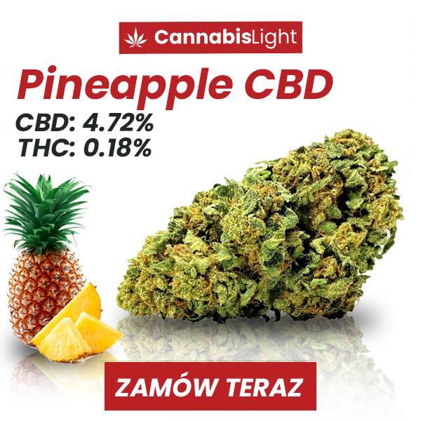 Susz CBD Pineapple - 4.72% CBD