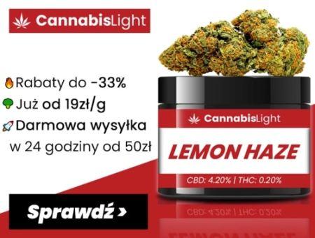 Tani susz CBD - promocje na susz konopny w sklepie Cannabis Light